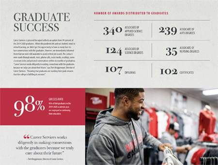 Ninety-eight percent of Northeast graduates find employment or continue their education