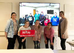 Northeast business students work with counterparts in Denmark