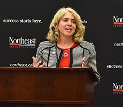 Northeast names Barrett as its ninth president