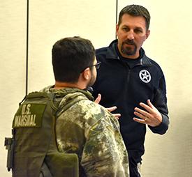 COPS showcases careers in federal law enforcement