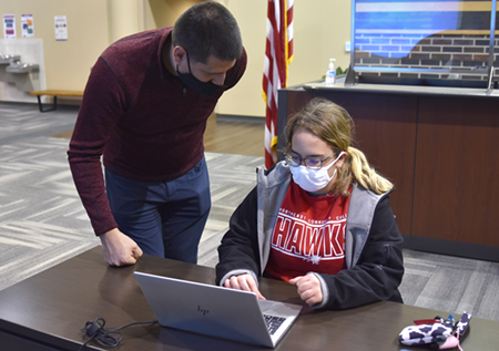 Northeast students, community members register for COVID-19 vaccines
