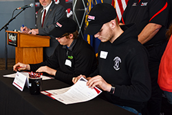 Academic students sign letters of intent to enroll at Northeast