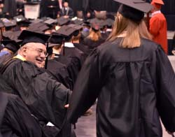 Northeast holds 46th commencement ceremony; Chipps bids farewell