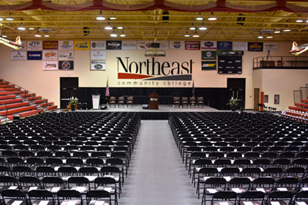 Northeast to hold six commencement ceremonies in May