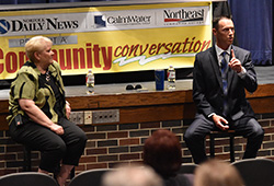 School, workplace safety addressed during Community Conversation