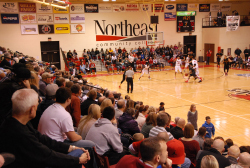 Northeast to offer free admission to home regular season athletic contests