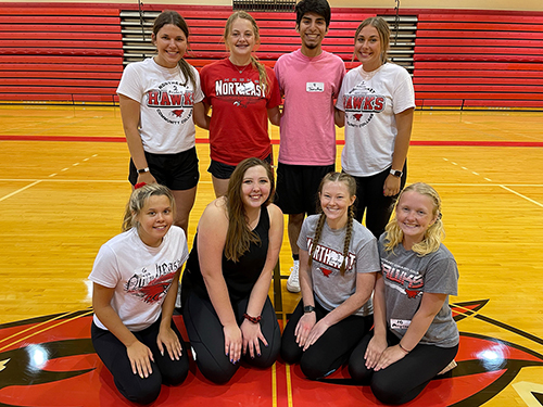 Northeast announces roster for new dance team