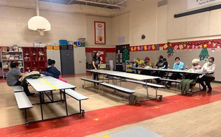 Northeast partners in family literacy program in Madison Elementary School