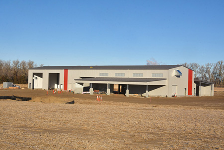 Work progresses on new Northeast agriculture facilities