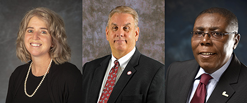 Presidential finalists named at Northeast