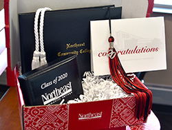 Northeast sends gift boxes to graduates
