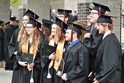 Northeast students complete studies for degrees, diplomas and certificates