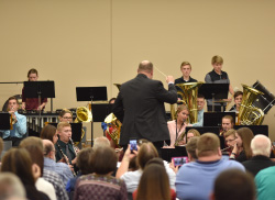 Honor musicians; vocalists perform at Northeast