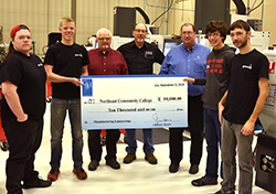 Haas Foundation donates $10,000 in scholarship funding to Northeast