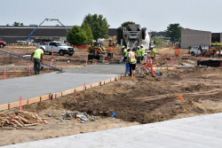 Improved infrastructure, security; green space in Hawks Village project