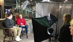 Northeast students assist at home and garden show