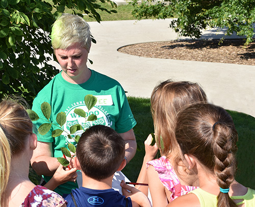 Area youth get one with nature at Northeast