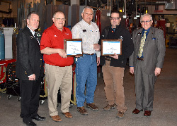 Knapp earns recognition from American Welding Society