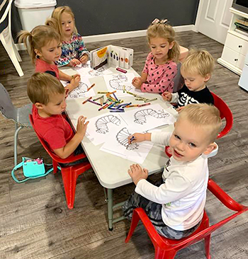 Northeast's early childhood education program offers educational kits to area libraries