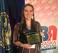Broadcasting graduate earns gold from NBA