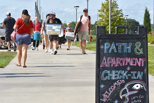 Students Move-In to Residence Halls