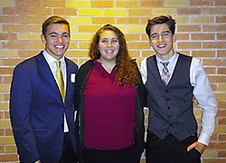 Northeast choir members perform at state competition