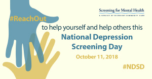 National Depression Screening Day event to be held at Northeast