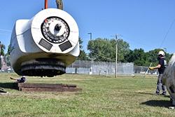 NextEra Energy Resources donates wind energy training equipment to Northeast