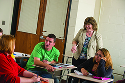 New faculty members introduced at Northeast