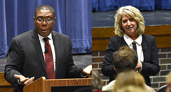 Final presidential candidates visit Northeast