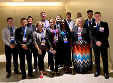 Business, IT students earn national honors at PBL conference