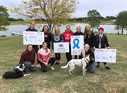 Northeast PTA students raise $1,800 in the fight against ALS