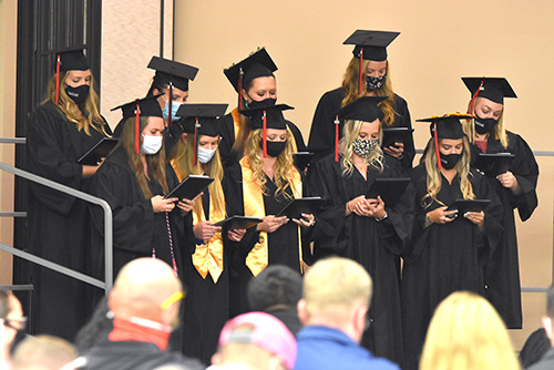 Summer commencement held for PTA and paramedic graduates