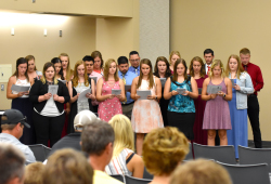 Recognition ceremony held for Northeast PTA students