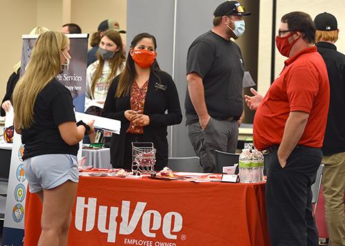 Northeast Community College hosts part-time job fair