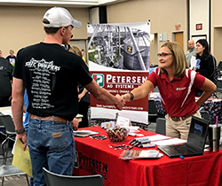 Over 200 students attend part-time job fair
