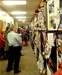 Remembering Our Fallen exhibit on display at Northeast