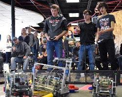 Northeast hosts world qualifying robotics competition