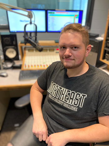 Media arts student earns scholarship from state broadcaster's group