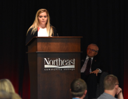 Luncheon honors scholarship recipients and sponsors