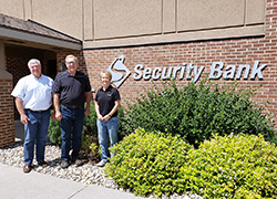 Security Bank makes pledge to new ag facilities at Northeast
