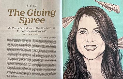 Northeast featured in Time magazine article on Mackenzie Scott's benevolence