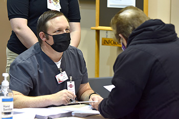Northeast Community College hosts COVID-19 vaccination clinic