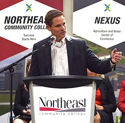 Developing rural communities goal of Nexus campaign co-chair
