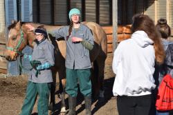 Prospective students see Northeast's veterinary technology program