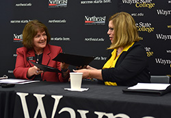 Northeast and Wayne State College collaborate to develop transfer initiatives